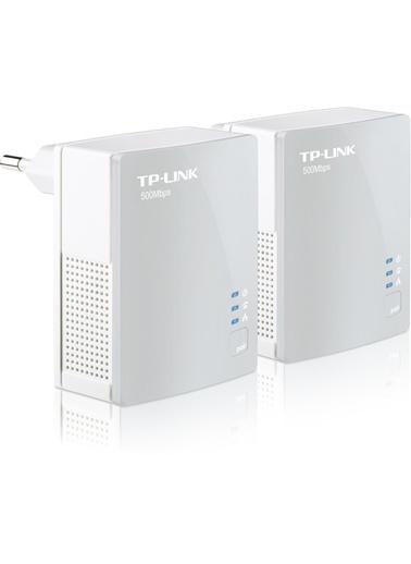 TP-LINK TL-PA4010KIT 500Mbps Tak-Kullan Powerline Adaptör Renkli